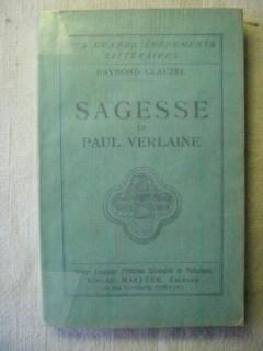 Sagesse et Paul Verlaine