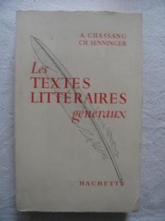 Les textes littéraires généraux