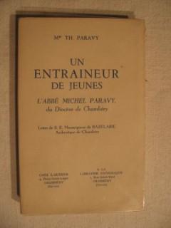 Un entraineur de jeunes, l'abbé Michel de Paravy du diocèse de Chambéry