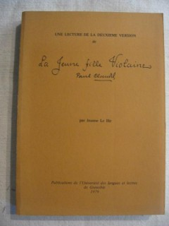 Une lecture de la deuxième version de la jeune fille Violaine de Paul Claudel