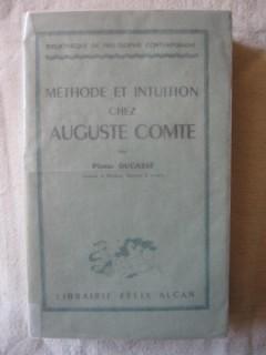 Méthode et intuition chez Auguste Comte