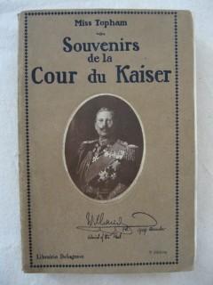 Souvenirs de la cour du Kaiser
