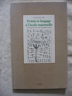 Poésie et langage à l'école maternelle