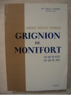 Saint Louis Marie Grignon de Montfort