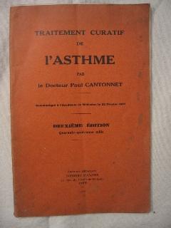 Traitement curatif de l'asthme