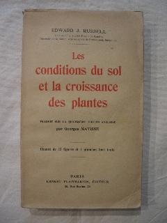 Les conditions du sol et la croissance des plantes