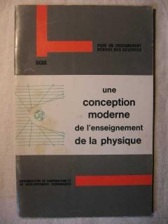 Une conception moderne de l'enseignement de la physique