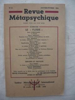 Revue métapsychique