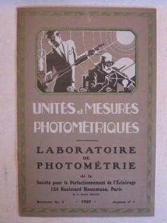 Unités de mesure photométriques