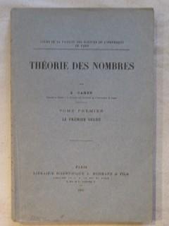 Théorie des nombres, tome 1 : le premier degré
