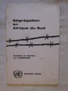 Ségrégation en afrique du Sud, questions et réponses sur l'Apartheid