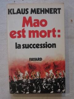 Mao est mort : la succession