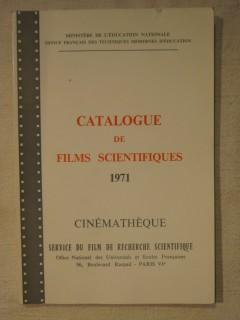 Catalogue de film scientifique