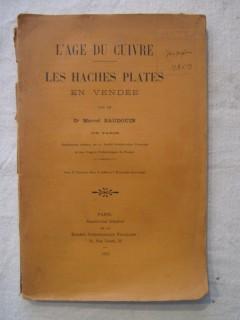 L'âge du cuivre, les haches plates en Vendée