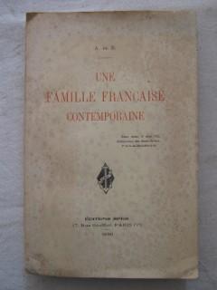 Une famille française contemporaine