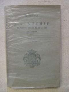 Mémoires de l'académie des sciences, arts et belles lettres de Dijon, Tome CXXI