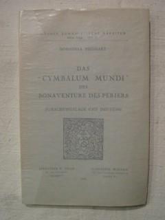 Das Cymbalum mundi des Bonaventure des Periers