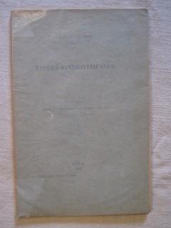 Etudes sandionysiennes