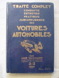 Traité complet des voitures automobiles