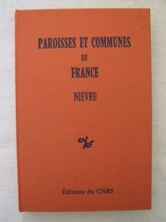 Paroisses et communes de France, Nièvre