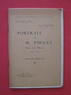 Portrait de M. Pouget, prêtre de la mission, deuxième fascicule