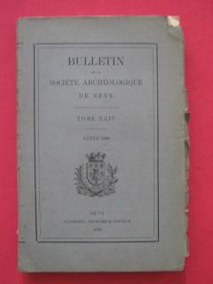 Bulletin de la société archéologique de Sens, tome XXIV