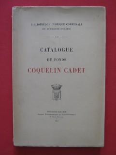 Catalogue du fonds Coquelin Cadet