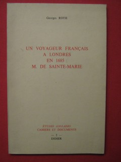 Un voyageur français à Londres en 1865 : M. de Sainte Marie