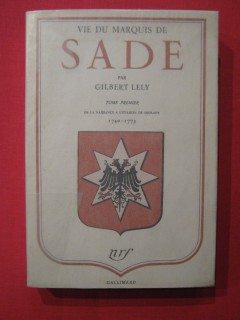 Vie du marquis de Sade, T1