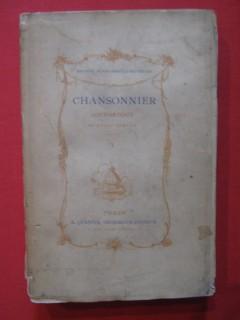 Chansonnier historique du XVIIIe siècle