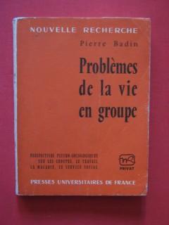 Problèmes de la vie en groupe
