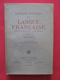 Grammaire historique de la langue française, tome 2
