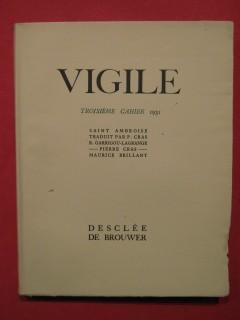 Vigile, troisiéme cahier