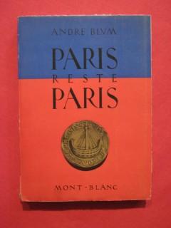 Paris reste Paris