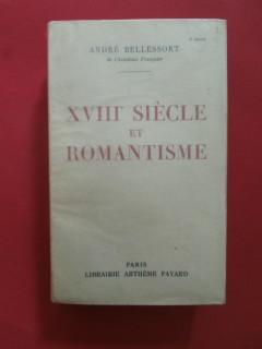 XVIIIe siècle et romantisme