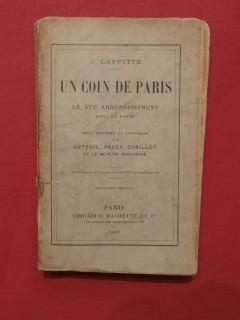 Un coin de Paris, le XVIe arrondissement dans le passé