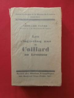 Les vingt cinq ans de Coillard au Lessouto