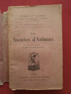 Les sociétés d'animaux