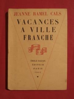 Vacances à Villefranche