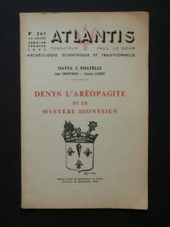 Denys l'aréopagite et le mystère dionysien