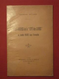 Les origines de la cité des livres ou Anatole France dans l'Avranchin