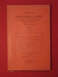 Revue de géographie alpne, tome XXXV, fascicule II