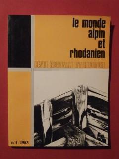 Le monde alpin et rhodanien, n°4, 1983