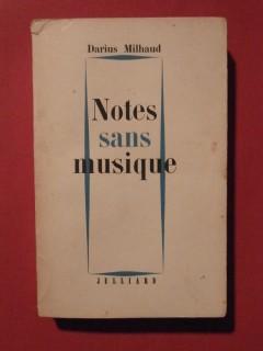 Notes sans musique