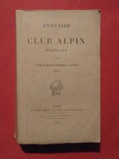 Annuaire du club alpin français, 1897