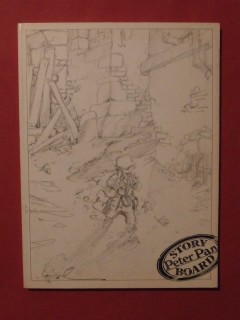 Peter Pan Story board