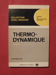 Thermo dynamique