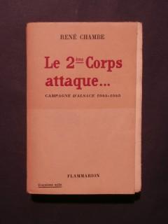 Le 2e corps attaque..., campagne d'Alsace 1944-1945