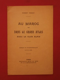Au Maroc et dans le grand Atlas avec le club alpin