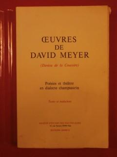 Œuvres de David Meyer (Daviou de la Coucoire)